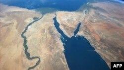 Нил, вид из космоса
