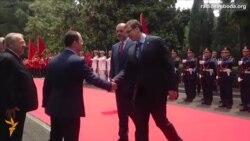 Відбувся перший візит сербського лідера до Албанії