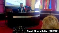 الباحث زيرفان برواري يتحدث في ندوة بدهوك عن السياسة التركية تجاه إقليم كردستان العراق