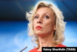 Russia's Foreign Ministry spokeswoman Maria Zakharova (file photo)
