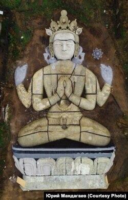 Скульптура Будды сострадания – Арья Балы – в высоту будет достигать 41 метр