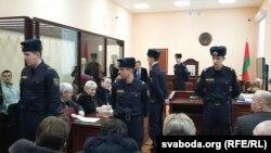 Ганна Шарэйка ў судзе