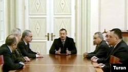 İlham Əliyev dekabrın 25-də Prezident sarayında Təhlükəsizlik Şurasının iclası keçirib