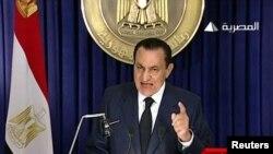 """""""Миллион"""" заставил Мубарака покинуть свой пост"""