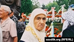Uzbekistan - veteran of the WWII is taking part in celebration of victory