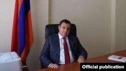 Новоизбранный председатель ВСС Рубен Вардазарян