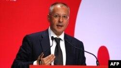 Сергей Станишев е председател на Партията на европейските социалисти от 2012 г.