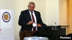 Armenia - Vanadzor Mayor Mamikon Aslanian, 10Oct,2016