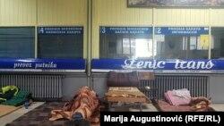 Autobuska stanica u Zenici blokirana je od 31. decembra 2019. godine
