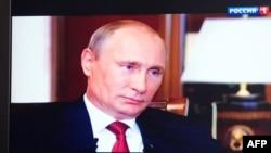 Владимир Путин, президент России. Кадр из документального фильма «Крым. Путь на Родину».