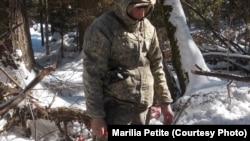 Удэгейский охотник в долине реки Бикин