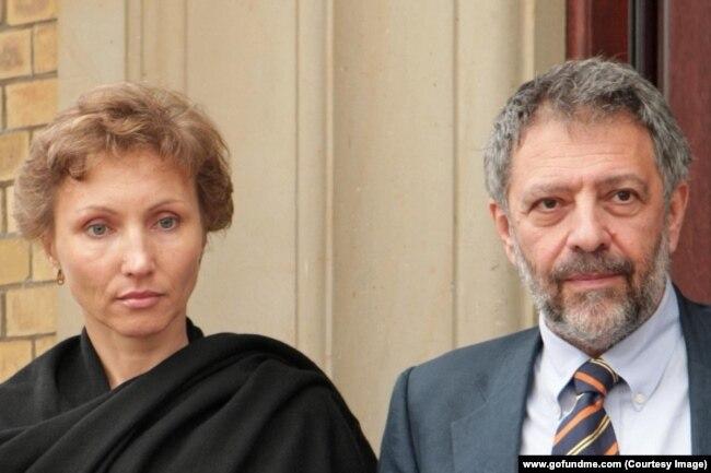 Марина Литвиненко и Александр Гольдфарб