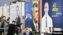 Foto nga fushata zgjedhore për zgjedhjet e 12dhjetorit në Kosovë.