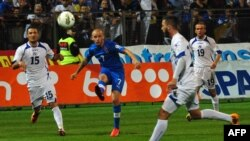 Meč kvalifikacija za SP BiH-Slovačka, Zenica, 6.9.2013.