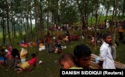 Бангладешке качкан рохинжа мусулмандары