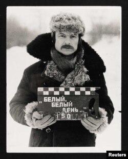 """Tarkovsky """"Güzgü"""" filminin çəkilişlərində, 1973"""