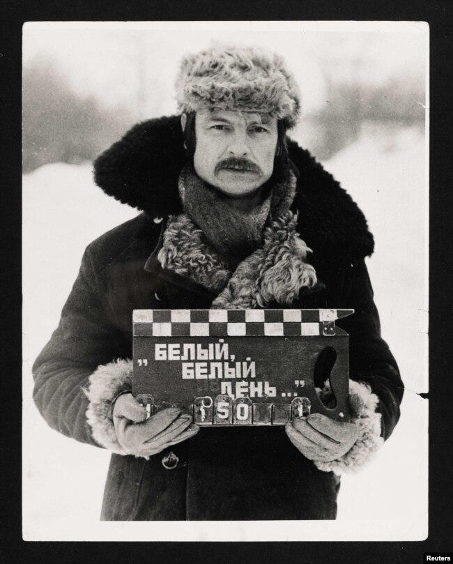 تارکوفسکی در پشتصحنهٔ فیلم «آینه»، ۱۹۷۳