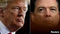 Donald Trump și James Comey