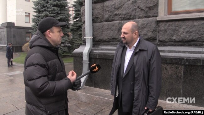 Борислав Розенблат каже, прийшов до АП стосовно справи, порушеної щодо нього