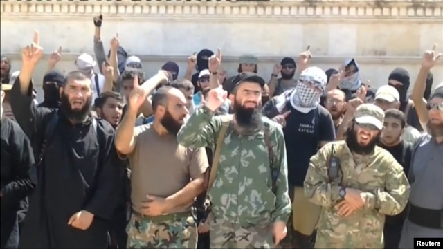 Caucasus Islamists in Syria announced a split from Al-Qaeda-linked rebels long ago, and the rift has since widened.