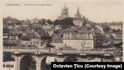 Lausanne în anii 1920