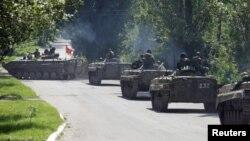 Проросійські сепаратисти біля Зайцева, Донеччина