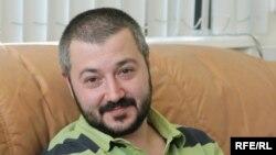 Олег Новиков в студии Радио Свобода