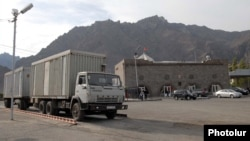 КПП «Мегри» на армяно-иранской границе