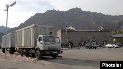 Հայաստան -- Մեղրու անցակետը Իրանի հետ սահմանին, արխիվ