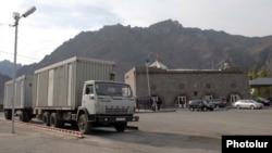 Армения - Мегринский КПП на границе с Ираном