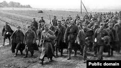 Польские военные, захваченные в плен советской армией