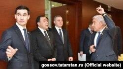 Сердар Бердымухаммедовдун Татарстандын расмий өкүлдөрү менен жолугушуусу.