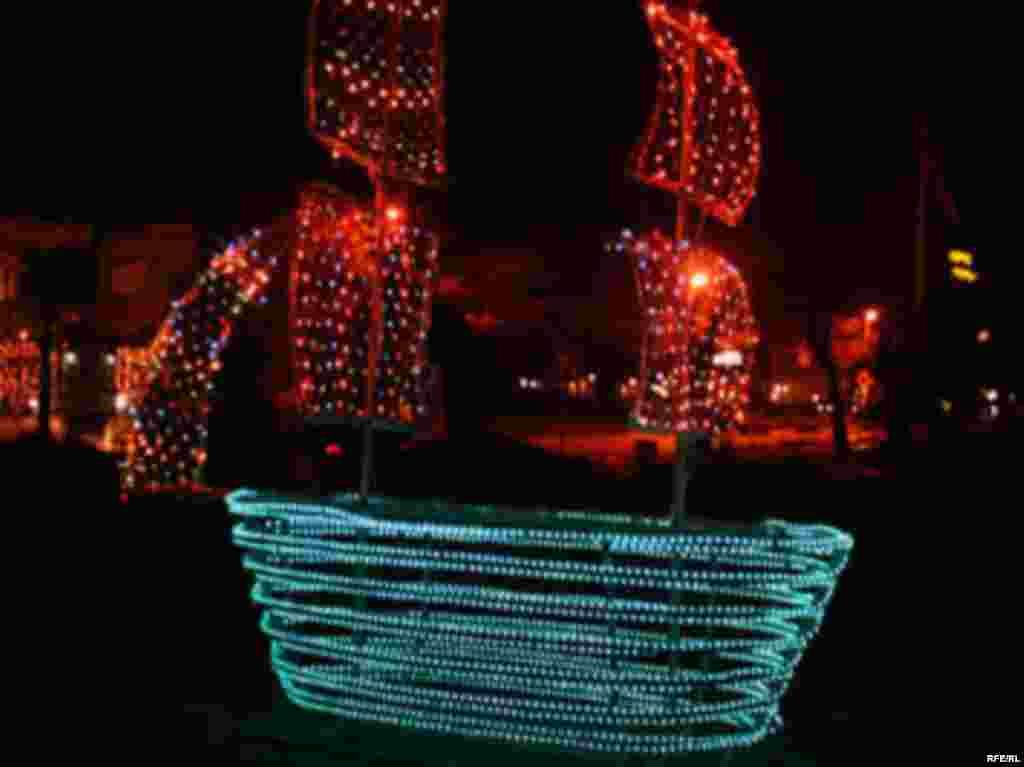 Охрид - Македонија - Новогодишен амбиент Охрид