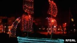 Од минатогодишниот новогодишен амбиент Охрид