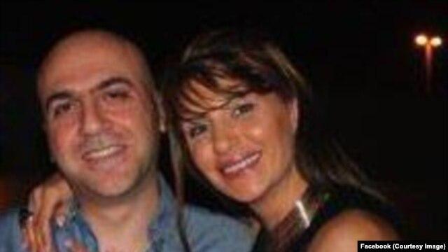 عباس یزدانپناه یزدی و همسرش