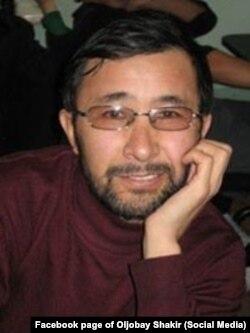Олжобай Шакир.