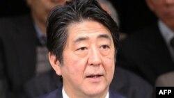 Премьер-министр Японии Синдзо Абэ.