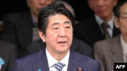 Kryeministri japonez, Shinzo Abe