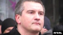 Новый премьер-министр Крыма Сергей Аксёнов. Симферополь, 2009 год.