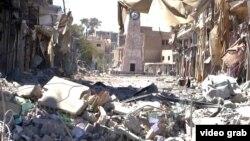 Ракка шаары. 22-август, 2017-жыл.