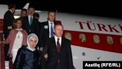 Эрдоган Акъяр һава аланында