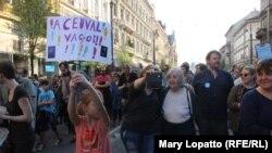 Podrška CEU: Protesti u Budimpešti