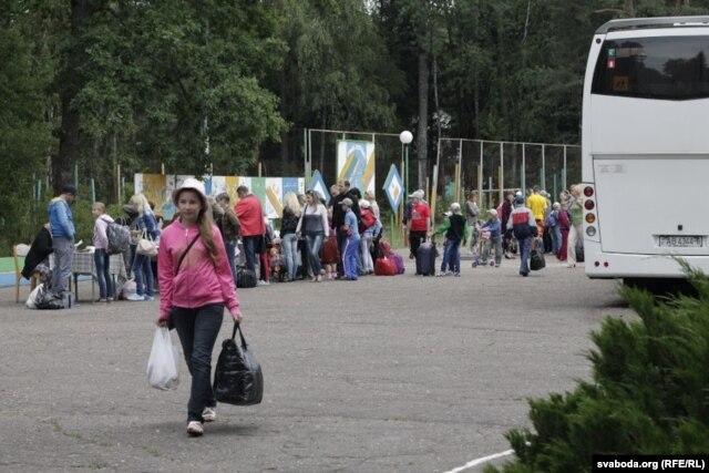 На 3-ю зьмену прыехалі больш за 600 дзяцей з розных раёнаў