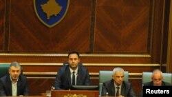 Glauk Konjufca, kryetari i ri i Kuvendit të Kosovë.s
