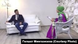 """Хозур ТВ"" кунагы Фәнис Җиһаншин"