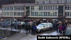 Protest je trajao jedan školski čas