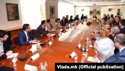 Координативна средба за коронавирусот кај премиерот Оливер Спасовски