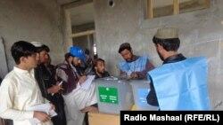 Pamje nga procesi i djeshëm zgjedhor në Afganistan