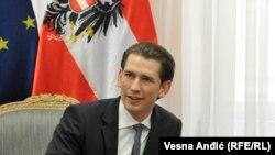 Ministri i jashtëm austriak Sebastian Kurz