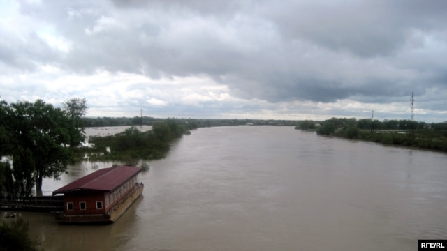 Flooding on the Kura River